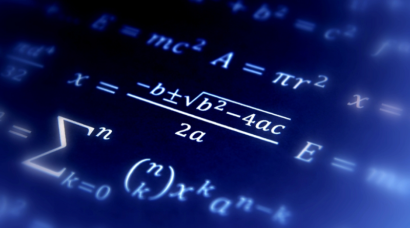 12 Mathematics equations