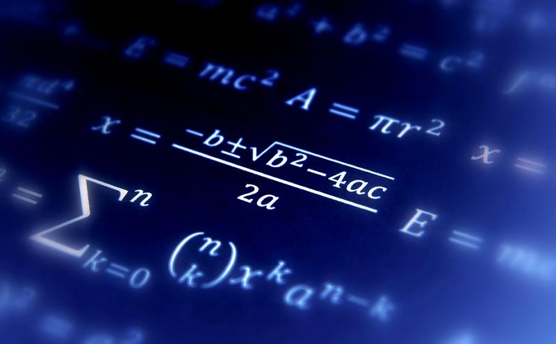 12 Mathematics equations