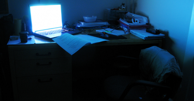 Studying-at-night