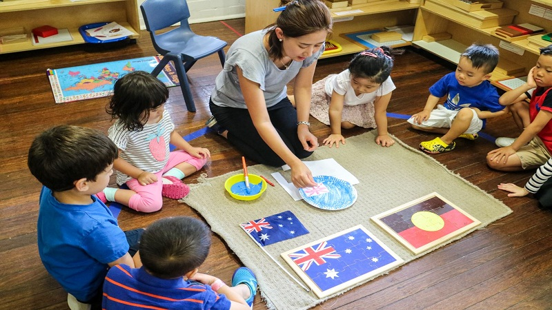 kindergartens Montessor